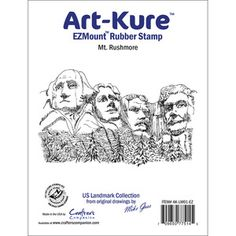 Crafters Companion > Mt. Rushmore - Art-Kure Landmarks EZMount Stamp: A Cherry On Top