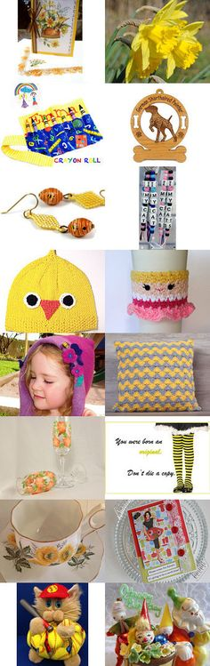 fEELIN' gROOVY BY cELEBRATION tIMES by Virginia Soskin on Etsy--Pinned+with+TreasuryPin.com