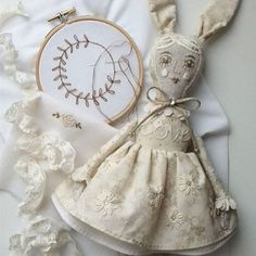 Girl rabbit is almost ready! Left to finish the trousers with embroidery and bag..This is a doll I will list in my shop tomorrow! #doll #artdoll #dollartist #dollmaker #fabricdoll #textiledoll #homedecor #embroidereddoll #embroidery #etsy #handmadelover #handmade #handmadedoll #кукларучнойработы #коллекционнаякукла #интерьернаякукла #текстильнаякукла #вышивка #хендмейд