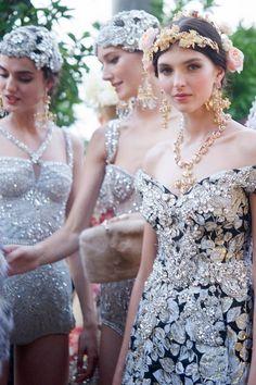 Dolce&Gabbana Alta Moda Fall 2015 Couture #DGPortofino