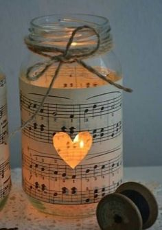Music Note Centerpieces