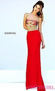 Buy Sherri Hill Floor Length 2015 Prom Dress at PromGirl