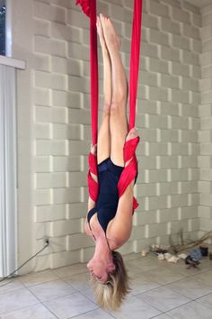 Straighten-Up (wrist wrap) by Stephanye of Ajna Life  Aerial yoga & dance in the hammock, silks, lyra and trapeze. Tutorials, pose references and lifestyle at ajnalife.com