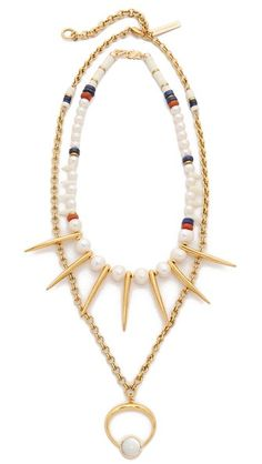 Lizzie Fortunato The New Moon Convertible Necklace