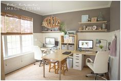 Beautiful office space and organization