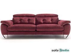 Sofá moderno de 3 y 2 plazas modelo Game fabricado por Acomodel en Sofassinfin.es