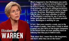 It's just plain wrong that companies can buy that kind of power.  I support Elizabeth Warren 100%!  I love watching her save our democracy from the highest bidder.
