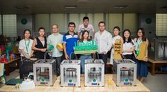 Country Agent  visit Winbo 3D Printer and negotiate the next year cooperation