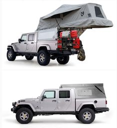 Jeep Jt, Jeep Truck, Defender Camper, Land Rover Defender, Jeep Gladiator, Camping Jeep, American Expedition Vehicles, Jeep Vehicles, Cars