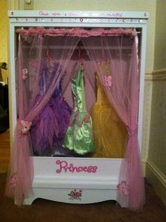 Charmant The Little Girls Dress Up Closet   I Love The Cute Lettering! (Looks Like