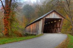 Bennett's Mill Covered Bridge  Greenup County, Kentucky
