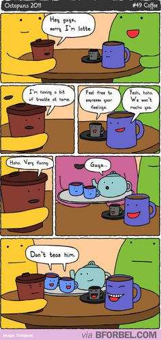 Lovers of coffee and puns, this is for you
