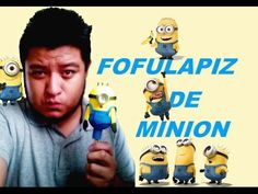 Como Hacer Fofulapiz Minion - YouTube