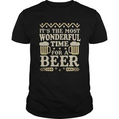Beer shirt Its The Most Wonderful Time For A Beer TShirt Christmas