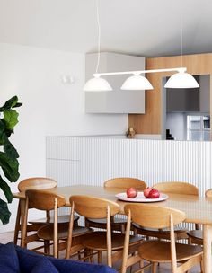 A Charming Edwardian Home, Expertly Renovated In Northcote Dining Nook, Dining Room Design, Dulux Natural White, Clare Cousins, White Wall Paint, Minimalist Dining Room, Outdoor Dining Chairs, Dining Tables, Edwardian House