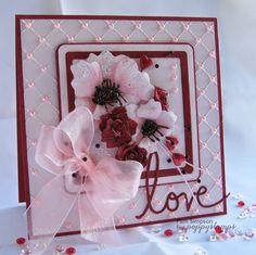 pamscrafts: Poppies and Roses.