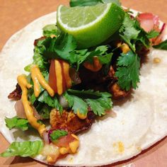 You and this #ChickenTaco have a lot of catching up to do. #TacoTuesday #OxidoNYC by @oxidonyc