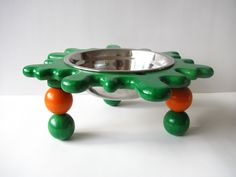 flower for you and your dog too modern pet products pinterest dog bowl stand dog and pet bowls