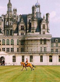 Chateau de Chambord, France by melva