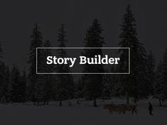StoryBuilder allows anyone with text, pictures and/or videos to combine this content into a creative story that can be published and shared with the world.