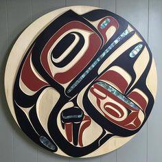 130 Paddle ideas in 2021 | native art, haida art, paddle