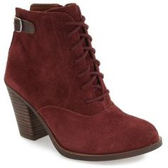Women's Lucky Brand 'Echoh' Lace-Up Bootie