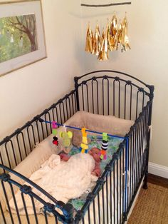 Infantino Travel Gym I Will Make This For The Crib With A Fun