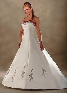 Robe de mariée de nouveauté avec des Broderies
