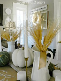~rooms FOR rent~: A Thankful Themed Thanksgiving Tablescape {2013}