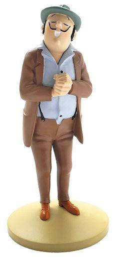TINTIN FIGURINE NUMERO 16  COLLECTION disponible en France et en Belgique.   Référence de la figurine : OLIVEIRA DA FIGUEIRA  Les Cigares du Pharaon, planche 13, case C4