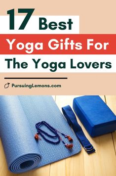 Best Yoga Gifts for the Yoga Lovers in Your Life : gifts for yoga, yoga gifts ideas, yoga accessories gift ideas, yogi gift ideas, gift idea for yoga lover.    If you