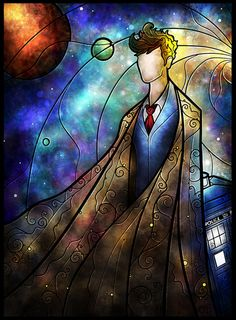 Cool 10th Doctor art!