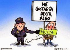 Ley Mordaza en España