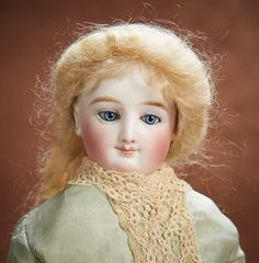 At Play in a Field of Dolls (Part 1 of 2-Vol set): 214 Beautiful French Bisque Smiling Poupee by Leon Casimir Bru with Bisque Hands