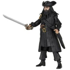 "Pirates Of The Caribbean Basic Figure Wave #2 Blackbeard V2 by Pirates of the Carribean. $9.22. Each figure includes unique hidden reveal. Play or collect. Hidden reveal activated with included LED accessory. Highly detailed 3 3/4"" figures. From the Manufacturer Pirates of the Caribbean: On Stranger Tides Movie Basic figures - Includes 3 3/4"" Scale Blackbeard V2 figure with hidden reveal, LED accessory and multiple figure accessories. ..."