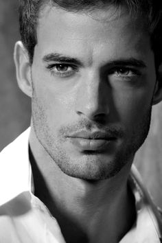 "William Levy...I think the lady M & M said it best: ""Gosh, you're handsome."""