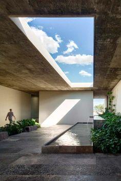 Office in Guanajuato by architect Manuel Cervantes.