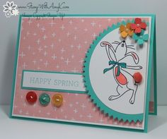 Happy Easter Bunny - Stampin' Up! - Stamp With Amy K