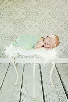 Off White Faux Fur Nest Blanket Newborn Baby Boy or Girl Photography Photo Prop