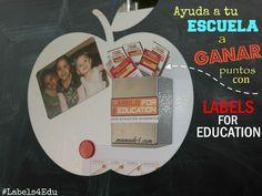 Ayuda a tu escuela a ganar puntos con Labels for Education que puedes encontrar en 250 productos participantes. Y además tu escuela podrá ganar $1,000. Para más detalles visita mi blog http://www.mamade4.com/?p=1197 #Labels4Edu #CollectiveBias #shop #cbias #mamade4 #LabelsForEducation