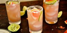 Honey Grapefruit Margarita: