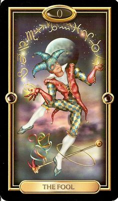 The-Fool – The Journey Begins - I believe The-Fool signifies the beginning of a new journey. I see it as an exciting time for the sitter who will see the world around them through fresh eyes. The analogy I use is one of a small child experiencing the world for the first time.
