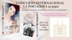 CONCURSO INTERNACIONAL  Activo hasta el 15 de noviembre.  Consigue la bolsa de las encadenadas.  Bases y participación, siguiendo el enlace:  https://www.facebook.com/groups/219104291622789/