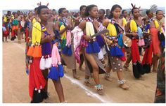 Swazi beauties also love to show YOUR fashion and raise economy.