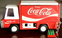 Buddy L vintage Coca-Cola truck 1970's