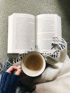 a good book & coffee