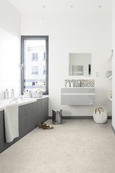 remodeling bathroom ideas diy is categorically important for your home. Whether you choose the small laundry room or serene bathroom, you will make the best small laundry room for your own life. Pvc Vinyl Flooring, Best Flooring, Flooring Options, Bathroom Flooring, Diy Bathroom Remodel, Bathroom Renovations, Bathroom Ideas, Serene Bathroom, Grey Clouds