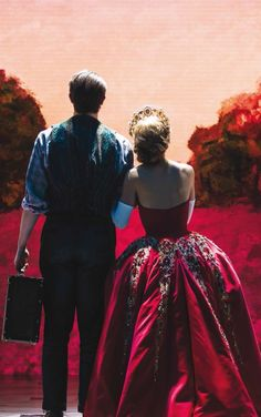 Derek Klena and Christy Altomare in Anastasia❤️ I don't know if I like Hartford ending dmitry outfit or Broadway's better!