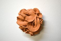 Thought Bubble -detail. Local wild clay from seashore.