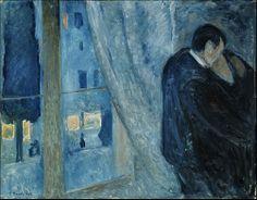 Edvard Munch - Il Bacio (1892)